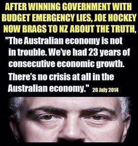 Hockey Claims no Budget Crisis