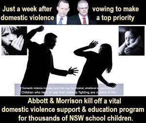NO Education for DV in Australia
