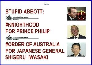 Order of Australia or Japan?
