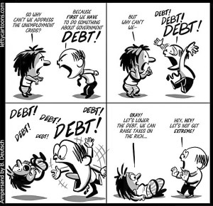 Debt or Taxes? Choose!