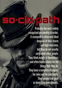 Symptoms of a Sociopath