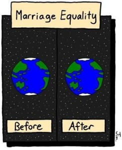 Really what exactly has changed since Gay Marriage has been accepted elsewhere?