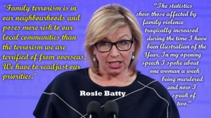 Outgoing Australian of the Year, Rosie Batty