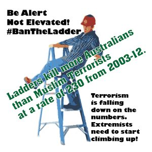 #BanTheLadder