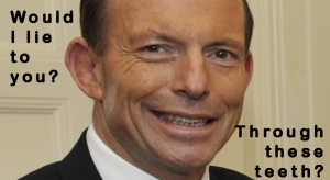 Tony Abbott the masterful beguiler of the Aussie Punter!