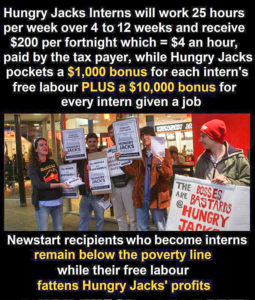 Hungry Jack social protest meme