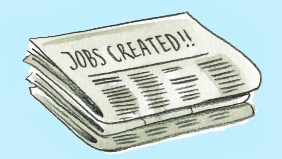 Government Guarantees everybody a job.