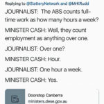 Questioning of Sen. Michaelia Cash 19th Sept 2019 at Doorstop Canberra