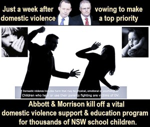 Abbott's words followed by Abbott's Deeds.
